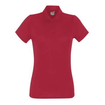 Fruit of the Loom Lady Fit Performance Polo Shirt Thumbnail