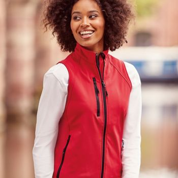 Russell Ladies Soft Shell Gilet Thumbnail