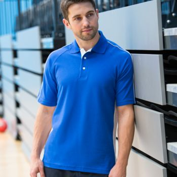 Finden and Hales Sports Cotton Piqué Polo Shirt Thumbnail