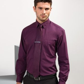 Premier Long Sleeve Poplin Shirt Thumbnail