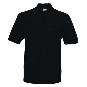 Fruit of the Loom Pocket Piqué Polo Shirt Thumbnail