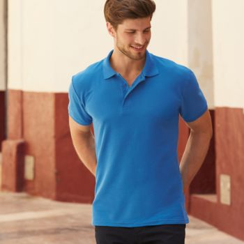 Fruit of the Loom Heavy Poly/Cotton Piqué Polo Shirt Thumbnail