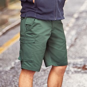 Russell Workwear Poly/Cotton Shorts Thumbnail