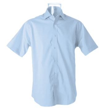 Kustom Kit Premium Short Sleeve Classic Fit Oxford Shirt Thumbnail
