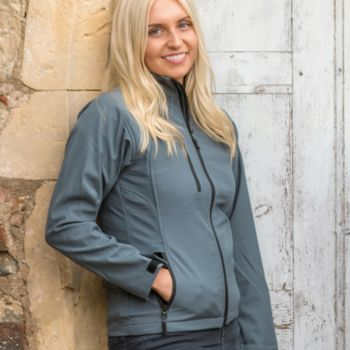 Result Ladies Base Layer Soft Shell Jacket Thumbnail