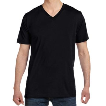 Canvas Unisex Jersey V Neck T-Shirt Thumbnail