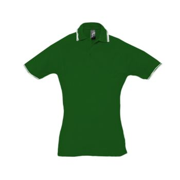 SOL'S Ladies Practice Tipped Cotton Piqué Polo Shirt Thumbnail
