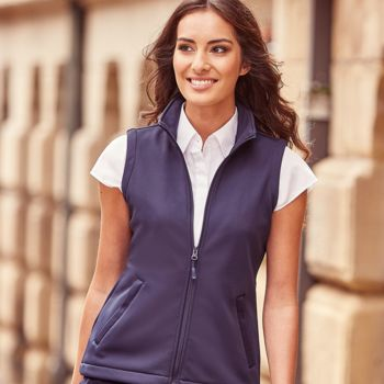 Russell Ladies Smart Soft Shell Gilet Thumbnail
