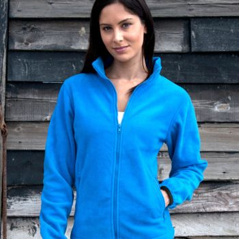 Result Core Ladies Fashion Fit Outdoor Fleece Thumbnail