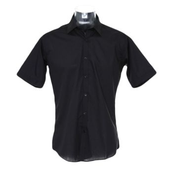 Kustom Kit Short Sleeve Slim Fit Business Shirt Thumbnail