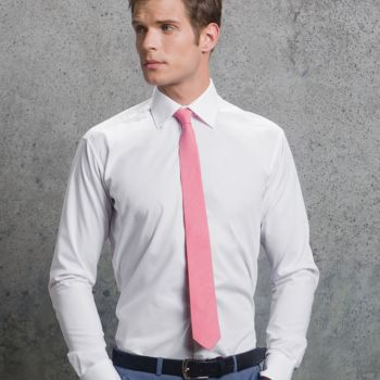 Kustom Kit Long Sleeve Slim Fit Business Shirt Thumbnail