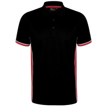 Finden and Hales Contrast Panel Polo Shirt Thumbnail