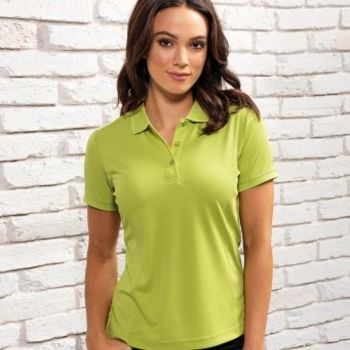 Premier Ladies Coolchecker® Piqué Polo Shirt Thumbnail