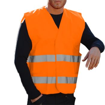 Portwest Hi-Vis Two Band Vest Thumbnail