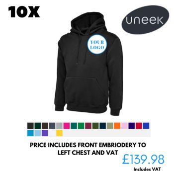 Special Offer on 10 Hoodies  Thumbnail